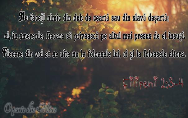 Filipeni 2,3-4